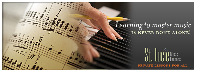 Saint Lucie Music School: Private music lessons for all levels and ages.